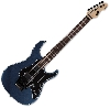 Esp ltd sn-1000fr rosewood gun metal blue flu